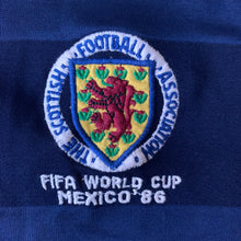 1986 SCOTLAND 'World Cup' HOME FOOTBALL SHIRT - M
