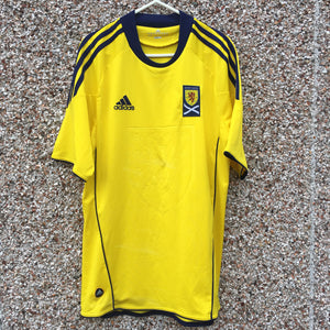 2010 2011 Scotland away Football Shirt - S