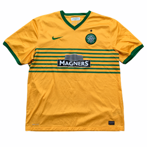 2013 14 CELTIC AWAY FOOTBALL SHIRT - XXL