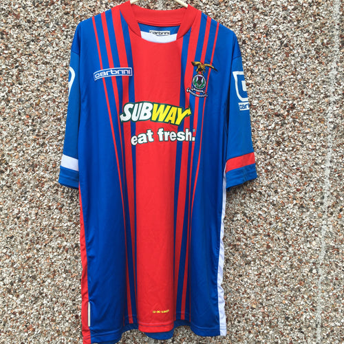 2014 2015 Inverness Caledonian Thistle home Football Shirt - M