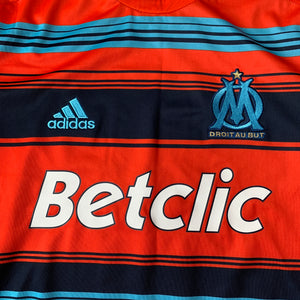 2011 12 OLYMPIQUE MARSEILLE THIRD L/S FOOTBALL SHIRT - M