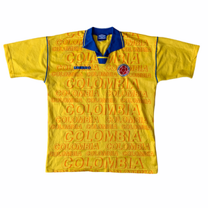 1995 97 COLOMBIA HOME FOOTBALL SHIRT - XL
