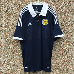 2011 2013 Scotland home Football Shirt - M