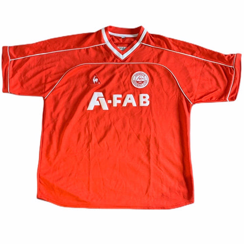 2002 2004 Aberdeen home Football Shirt - XL