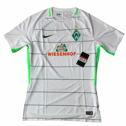 2017 18 WERDER BREMEN AWAY FOOTBALL SHIRT *BNIB* - L
