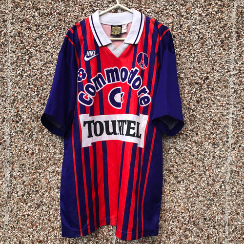 1993 1994 Paris Saint-Germain Home Football Shirt - L