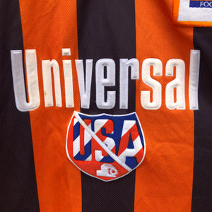 1995 1996 Luton Town away football shirt - M