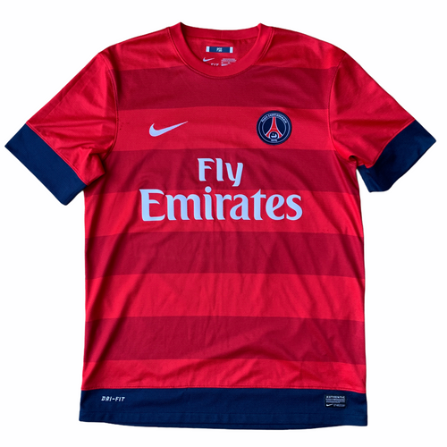2012 13 PARIS SAINT-GERMAIN AWAY FOOTBALL SHIRT - M