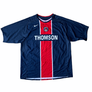 2005 06 PSG PARIS SAINT-GERMAIN HOME FOOTBALL SHIRT - XXL