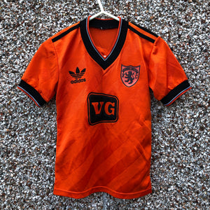 1985 1986 DUNDEE UNITED HOME FOOTBALL SHIRT #10 - XS/XXS