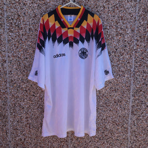 1994 1996 Germany home Football Shirt - XL