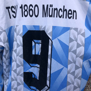 1993 1994 TSV 1860 MUNICH L/S HOME FOOTBALL SHIRT - M