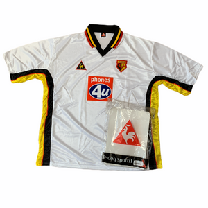 1999 01 WATFORD AWAY FOOTBALL SHIRT *BNIB* - L