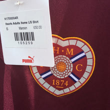 2015 2016 Heart of Midlothian LS home Football Shirt *BNWT* - S