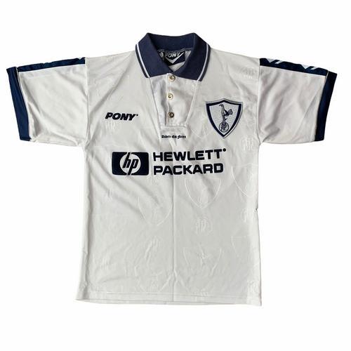 1995 97 TOTTENHAM HOTSPUR HOME FOOTBALL SHIRT - S