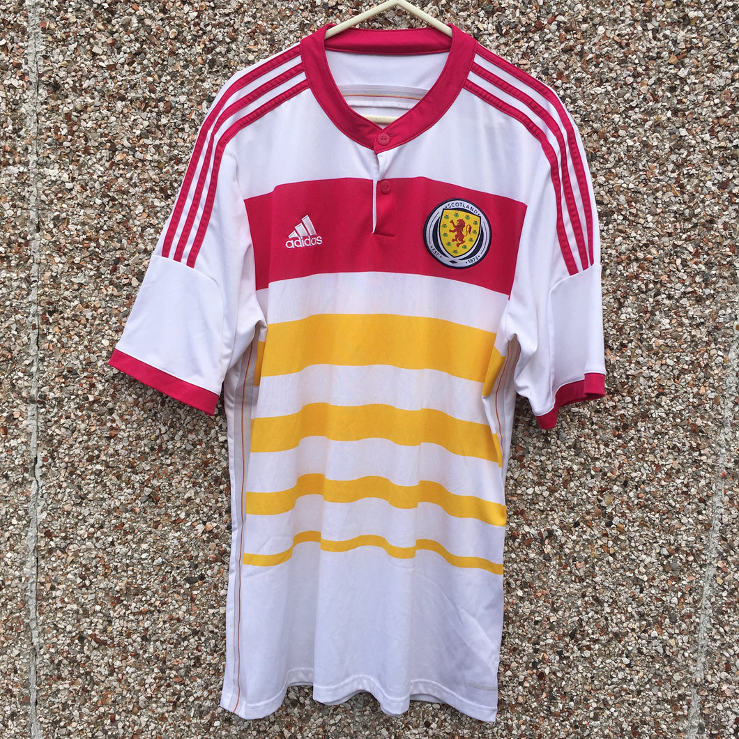 2014 2014 Scotland away Football Shirt - S
