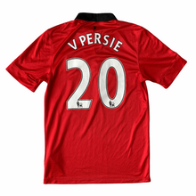 2013 14 MANCHESTER UNITED HOME FOOTBALL SHIRT #20 V PERSIE - S