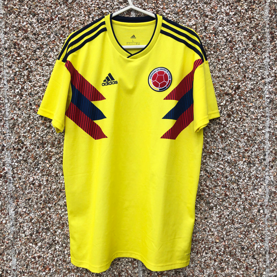 2018 2019 Colombia FOOTBALL SHIRT - L