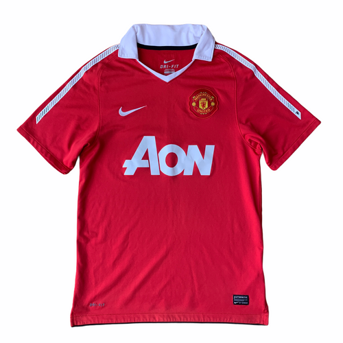2010 11 MANCHESTER UNITED HOME FOOTBALL SHIRT - S