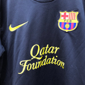 2011 2012 Barcelona away Football Shirt - S