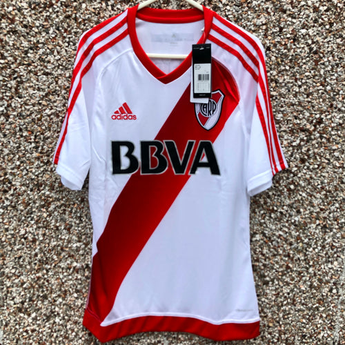 2016 2017 River Plate home Football Shirt BNWT - L