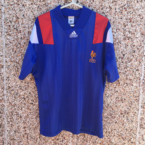 1992 1994 France home Football Shirt - M 40-42