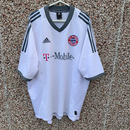 2002 2003 Bayern Munich away football shirt - L