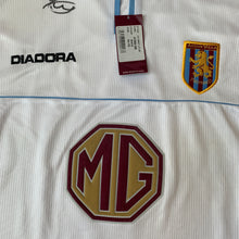 2002 03 ASTON VILLA LS AWAY FOOTBALL SHIRT *BNWT* - XXL