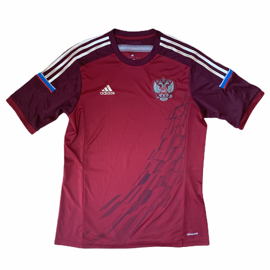 2014 15 RUSSIA HOME FOOTBALL SHIRT - L