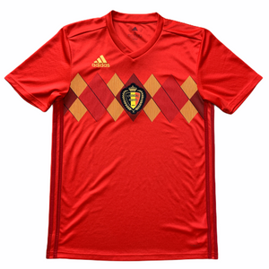 2018 2019 Belgium home Football Shirt - S