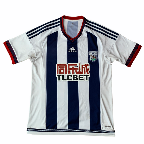 2015 16 WEST BROM HOME FOOTBALL SHIRT - M