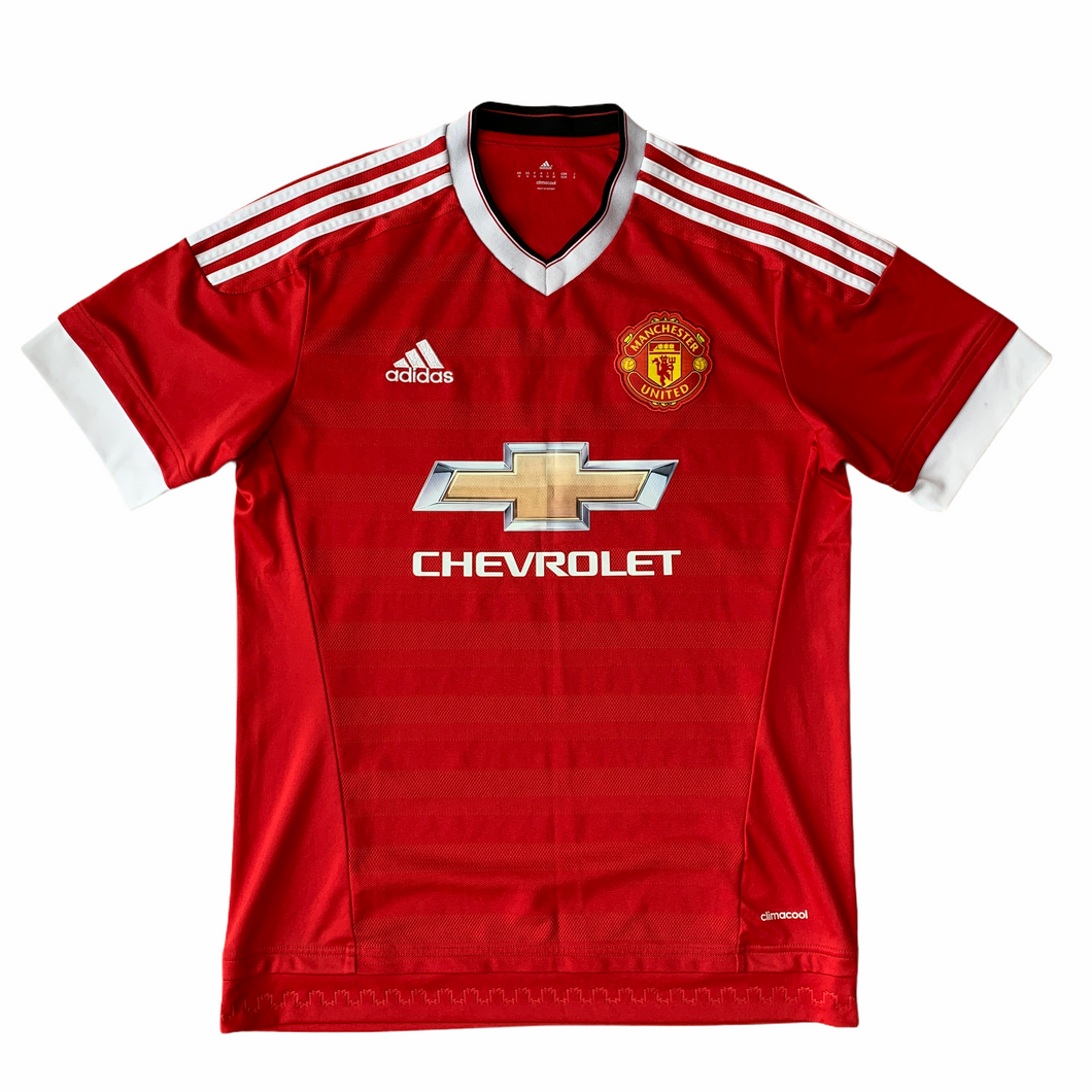 2015 16 Manchester United home Football Shirt - M