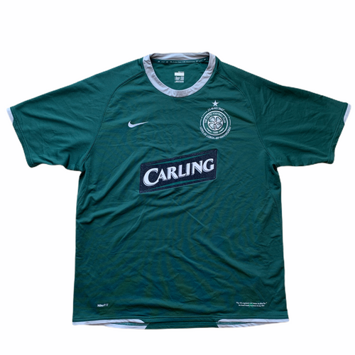 2007 08 CELTIC AWAY FOOTBALL SHIRT - XL