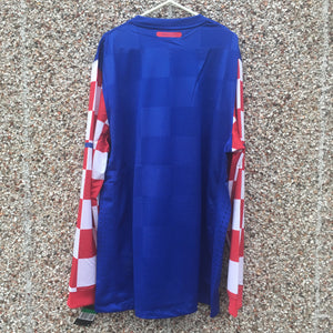 2010 2012 Croatia Player Issue Long Sleeved Away Football Shirt BNWT - XXL