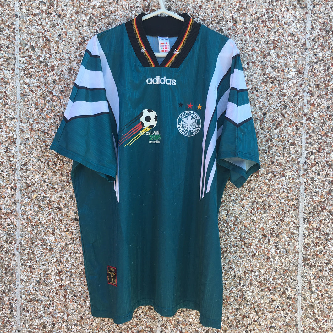 1996 1998 Germany WM2006 away Football Shirt - XXL