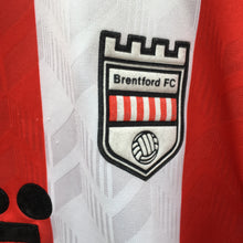 1992 1993 Brentford home Football Shirt - XL