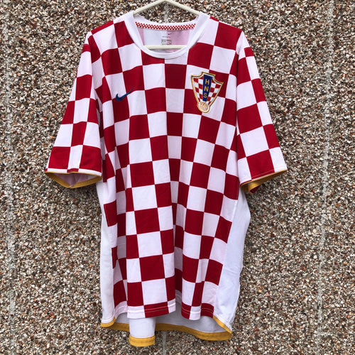 2006 08 Croatia home football shirt - XXL