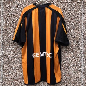2006 2007 Hull City home football shirt - L