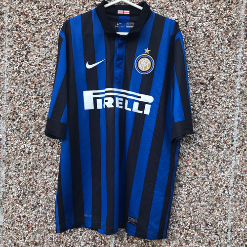 2011 2012 Inter Milan home football shirt - L