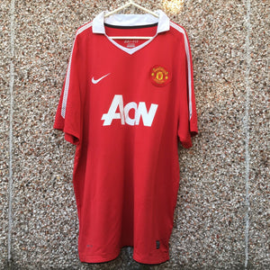 2010 2011 Manchester United home Football Shirt - XL