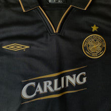 2003 04 CELTIC AWAY FOOTBALL SHIRT #18 LENNON - XXL