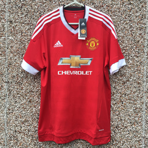 2015 2016 Manchester United home Football Shirt - L