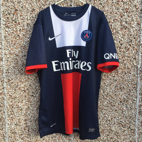 2013 2014 PARIS SAINT-GERMAIN HOME SHIRT - L