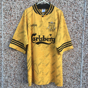 1994 1996 Liverpool Third Football Shirt - XL