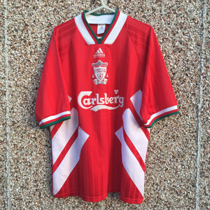 1993 1995 Liverpool Home Football Shirt - XL