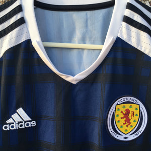 2016 2017 Scotland home Football Shirt - M