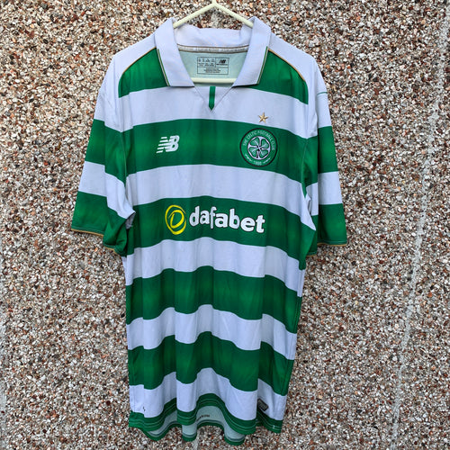 2016 2017 Celtic home football shirt - XL