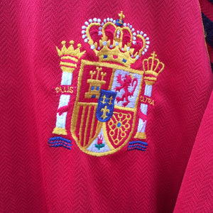 1998 1999 Spain home Football Shirt - L