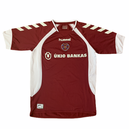 2006 07 HEART OF MIDLOTHIAN HOME FOOTBALL SHIRT - S