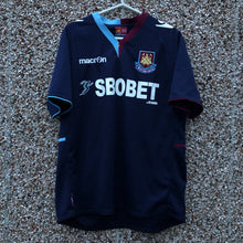 2012 2013 WEST HAM UNITED AWAY FOOTBALL SHIRT #28 COLE - S